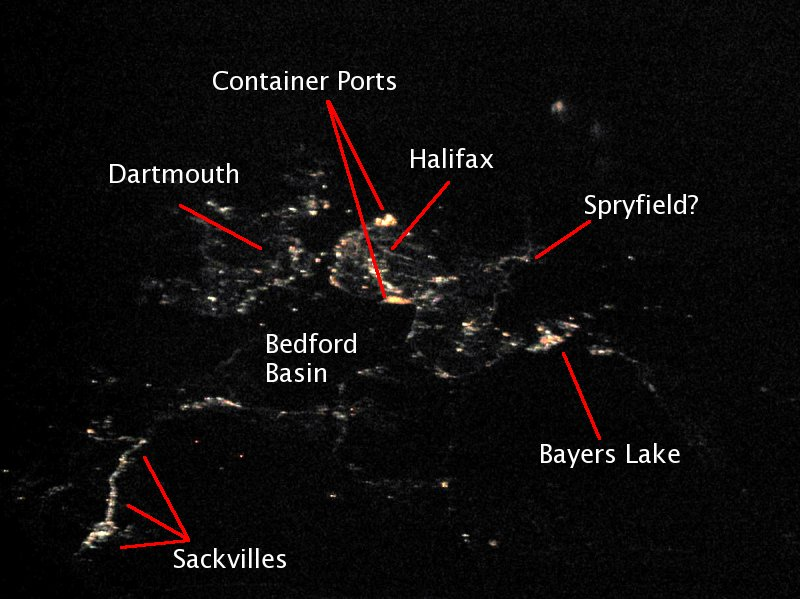 halifax at 38000 feet with labels